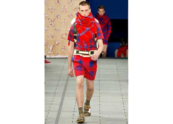 Louis Vuitton spring mens collection 2012