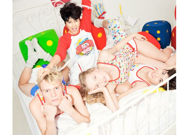 Bas for Zeeman nightwear fashion collection