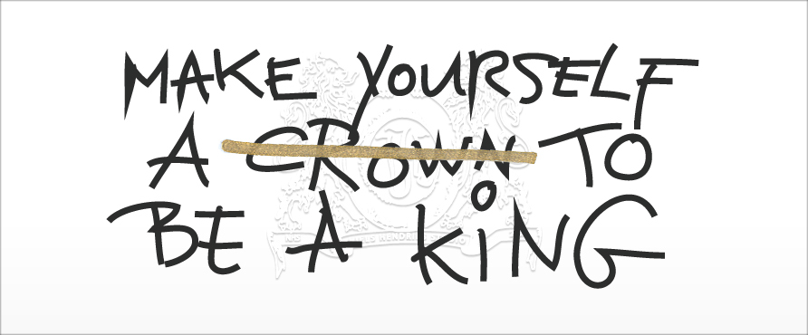 Niels Hendriks Studio - Make yourself a crown to be a king