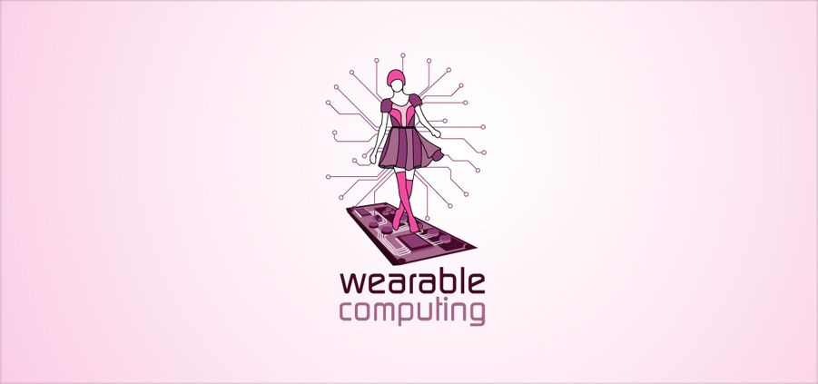 Wearable Computing, Ubiqitious Computing, Logo