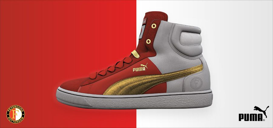Feyenoord shoes, Puma Shoes only for the real fans!