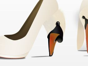 SWAN Highheels, High end fashion shoes